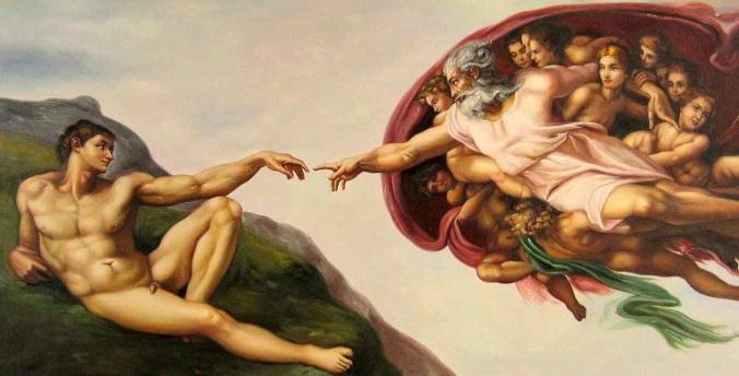 The Creation of Man (Michelangelo)